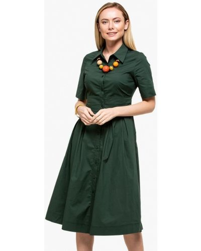 Зеленое платье Cavo