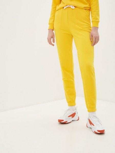 Спортивные брюки весенний желтый Manifest