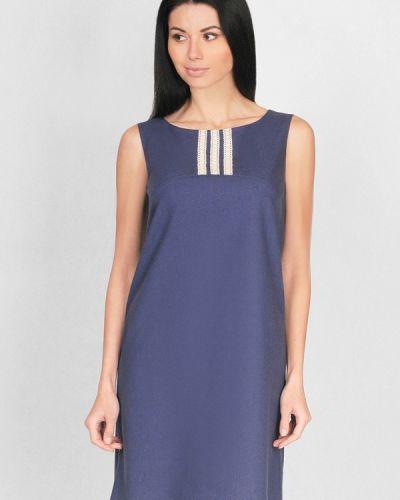 Платье весеннее синее Lila