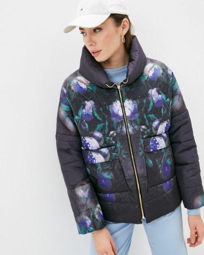 Черная утепленная куртка Anna Verdi