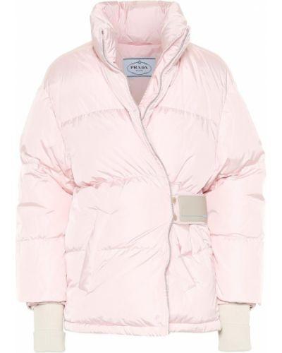 Зимняя куртка утепленная нейлоновая Prada