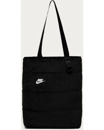 Czarna torebka na co dzień z nylonu Nike Sportswear