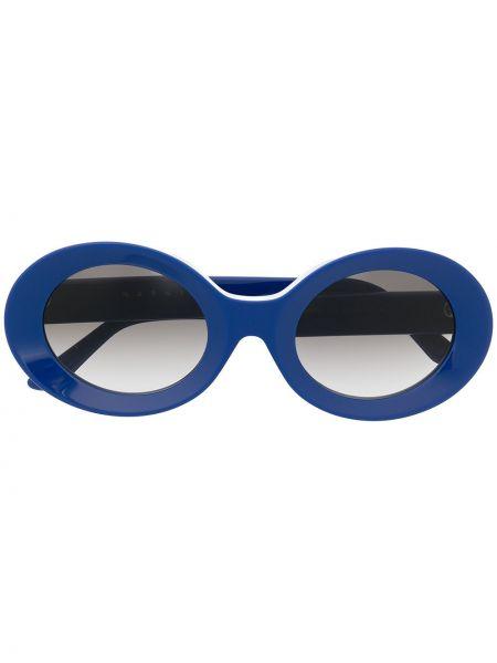 Солнцезащитные очки хаки Marni Eyewear