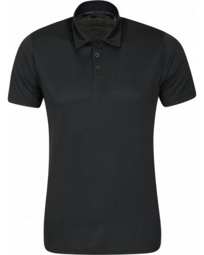 Czarny t-shirt Mountain Warehouse