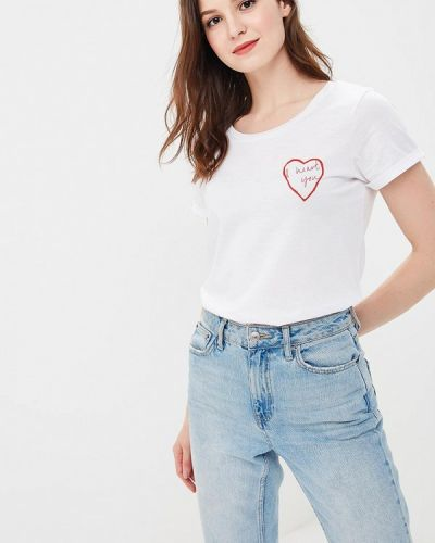 Белая футболка Ichi