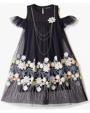 Платье на торжество черное Choupette
