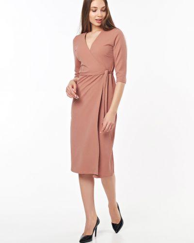 Платье миди с запахом классическое Victoria Filippova