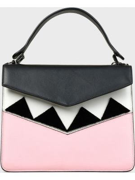 Кожаная кожаная сумка с карманами Les Petits Joueurs