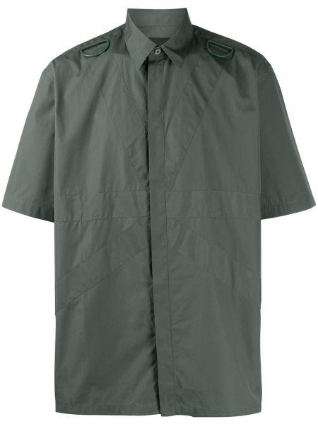 Koszula krótkie z krótkim rękawem wojskowy z kołnierzem Stella Mccartney