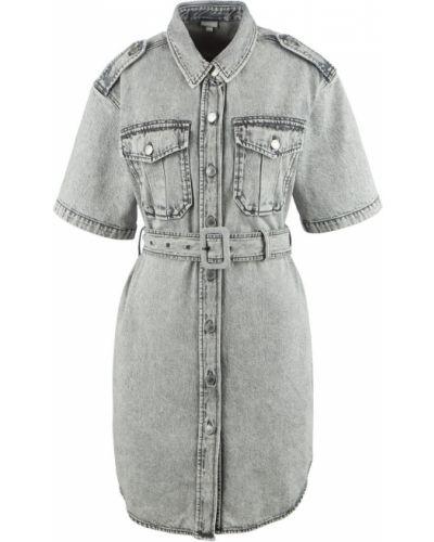 Серое джинсовое платье Miss Sixty