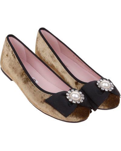 Коричневые туфли Pretty Ballerinas