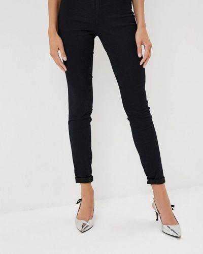 Черные брюки зауженные Naf Naf