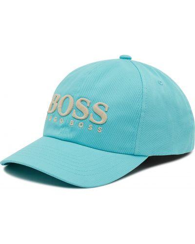 Czapka z daszkiem - niebieska Boss