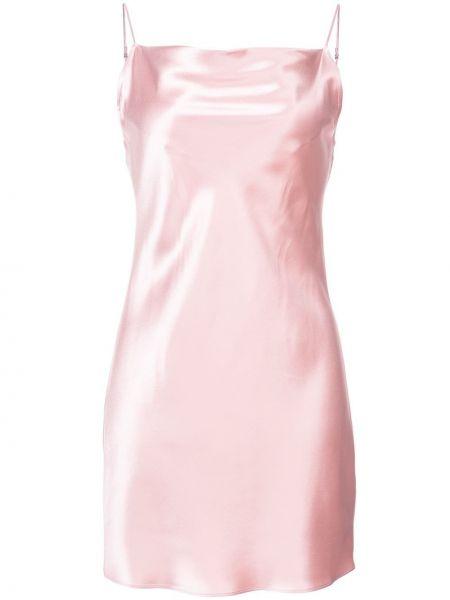 Платье розовое на бретелях Fleur Du Mal