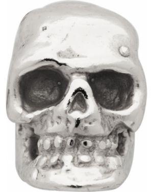 Kolczyki ze srebra z czaszkami Emanuele Bicocchi