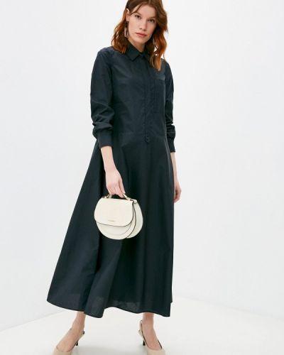 Повседневное черное платье Max&co