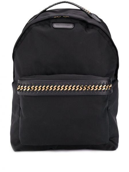 Plecak czarny włókienniczy Stella Mccartney