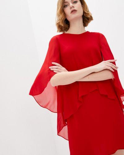 Вечернее платье - красное Lauren Ralph Lauren