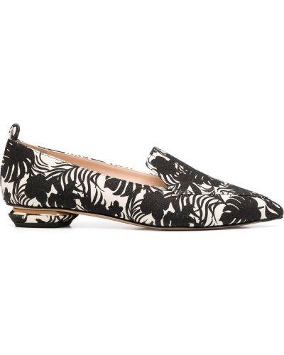 Loafers, biały Nicholas Kirkwood