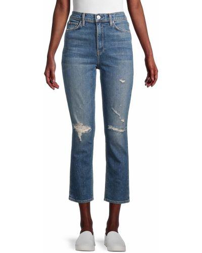 Прямые джинсы на шпильке Hudson