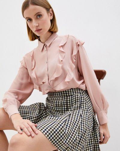 Блузка с рюшами - розовая Iblues