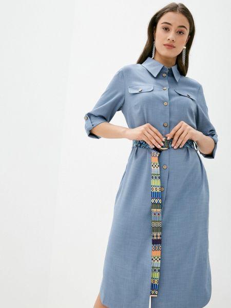 Платье платье-рубашка весеннее Aelite