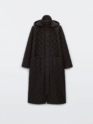 Черная демисезонная куртка Massimo Dutti