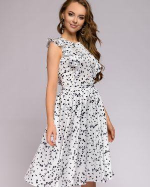Летнее платье повседневное на молнии 1001 Dress
