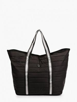Текстильная сумка - черная Luhta