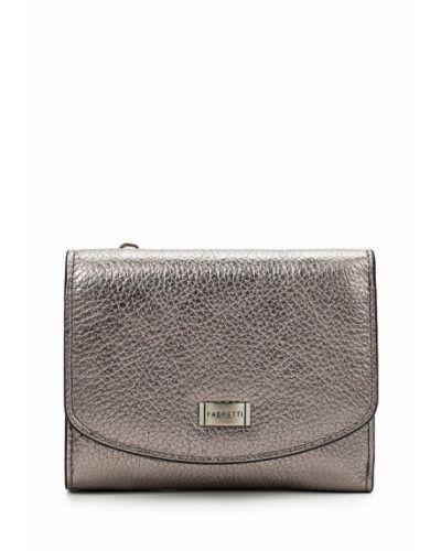 Серый кошелек Fabretti