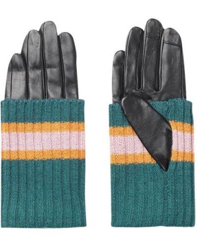 Czarne rękawiczki Becksöndergaard