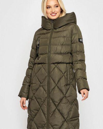 Теплая куртка хаки Clasna