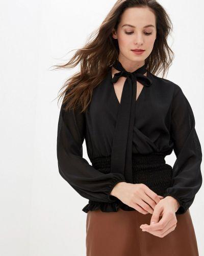 Блузка с длинным рукавом турецкий черная Adl