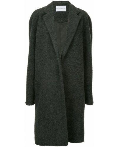 Длинное пальто с капюшоном Strateas Carlucci