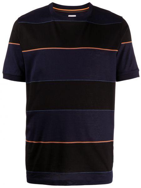 Koszula krótkie z krótkim rękawem z paskami w paski Paul Smith