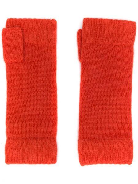 Перчатки оранжевые эластичные N.peal