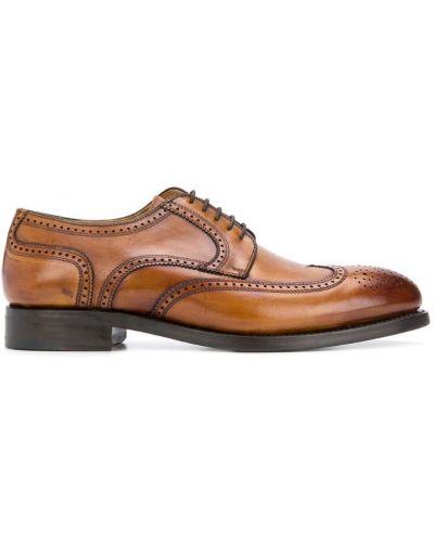 Дерби коричневый Berwick Shoes