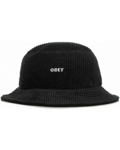 Czarna czapka Obey