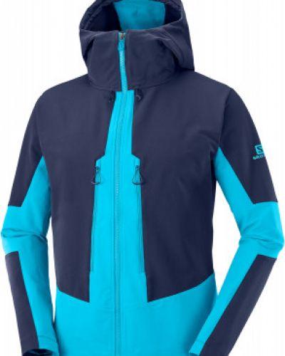 Куртка с капюшоном - синяя Salomon