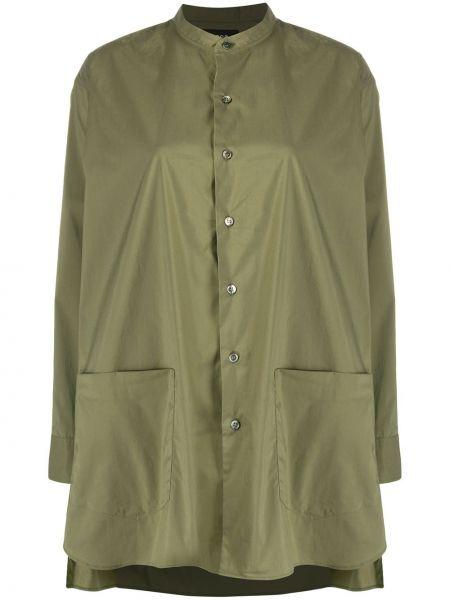 Длинная рубашка - зеленая Zucca