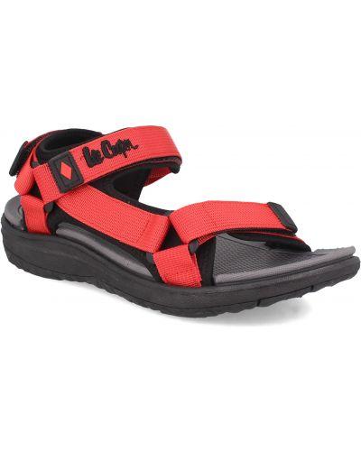 Спортивные сандалии - красные Lee Cooper