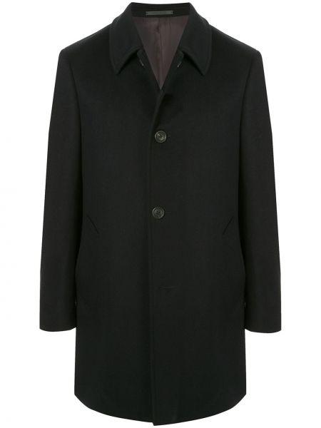 Niebieski płaszcz wełniany Gieves & Hawkes