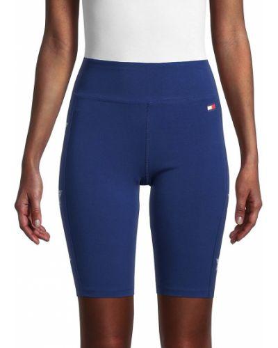 Niebieskie spodenki sportowe bawełniane Tommy Hilfiger Sport