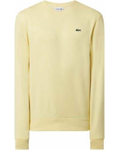 Bluza bawełniana - żółta Lacoste