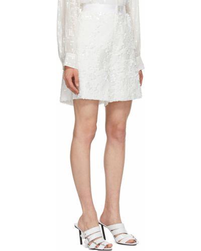 Белые шорты сетчатые Junya Watanabe