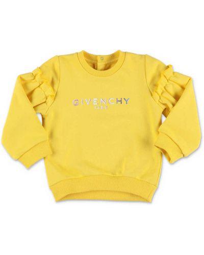 Żółta bluza bawełniana Givenchy