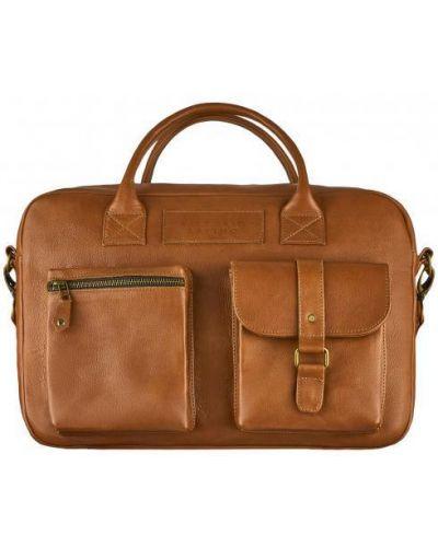 Кожаный портфель - коричневый Vittorio Safino