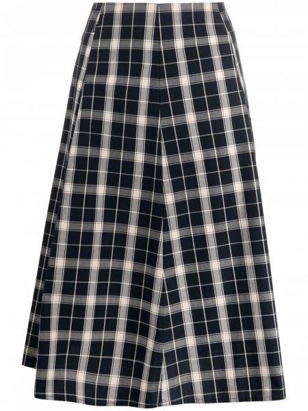 Синяя юбка на шпильке с принтом Woolrich