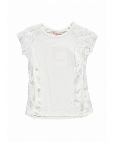 Белая футболка Brums