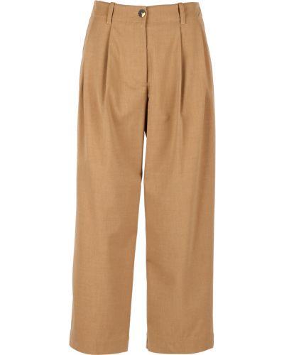 Brązowe spodnie Momoni
